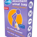 NIEUW: CareBag® Mannen wegwerp mannen urinaal voor thuis & onderweg